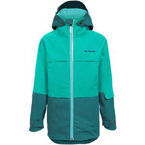 VAUDE Snow Cup 3in1 Jacket Barn Petroleum Petroleum