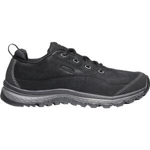 Keen Terradora Leather Sneakers Dam black/raven black/raven