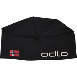 Odlo Polyknit Fan Warm Hat black-norwegian flag black-norwegian flag