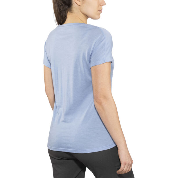 Bergans Oslo Wool Tee Women air blue