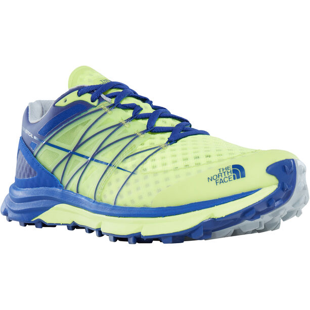 The North Face Ultra Vertical Shoes Herr dayglo yellow/brit blue