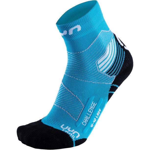 UYN Run Trail Challenge Socks Dam turquoise/white