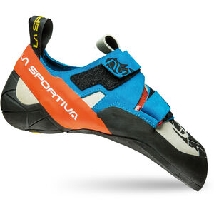 La Sportiva Otaki Shoes blue/flame blue/flame