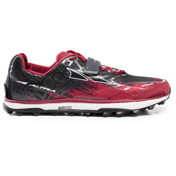 Altra King MT 1.5 Trail Running Shoes Herr red