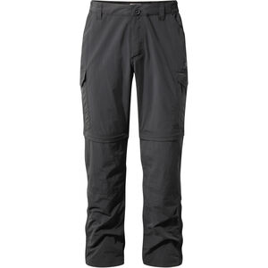 Craghoppers NosiLife Convertible Trousers Herr black pepper black pepper