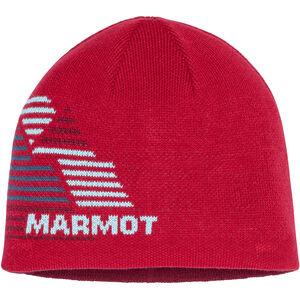 Marmot Novelty Reversible Beanie Pojkar Team Red Team Red