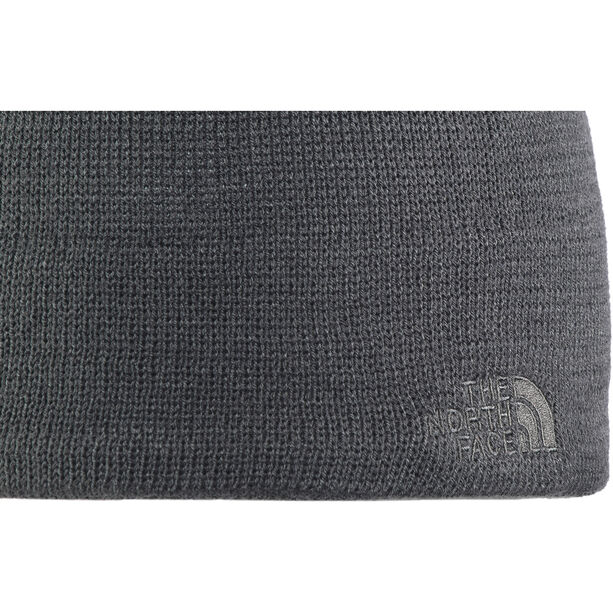 The North Face High Beanie heathered black
