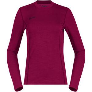 Bergans Akeleie Shirt Dam Beet Red/Raspberry Beet Red/Raspberry