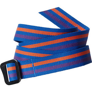 Patagonia Friction Belt fitzroy belt stripe: andes blue fitzroy belt stripe: andes blue