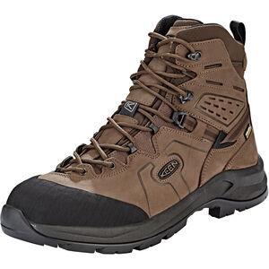 Keen Karraig WP Mid Shoes Herr dark earth/raven dark earth/raven
