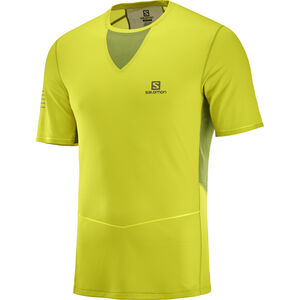 Salomon Sense Ultra Tee Herr citronelle/avocado citronelle/avocado