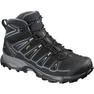 Salomon X Ultra 2 Spikes GTX Mid Shoes Herr Black/Black/Quiet Shade Black/Black/Quiet Shade