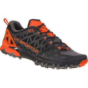 La Sportiva Bushido II Trail Running Shoes Herr carbon/tangerine carbon/tangerine