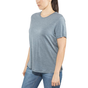 Alchemy Equipment 180GSM Merino Relaxed Tee Dam smokey blue marle smokey blue marle
