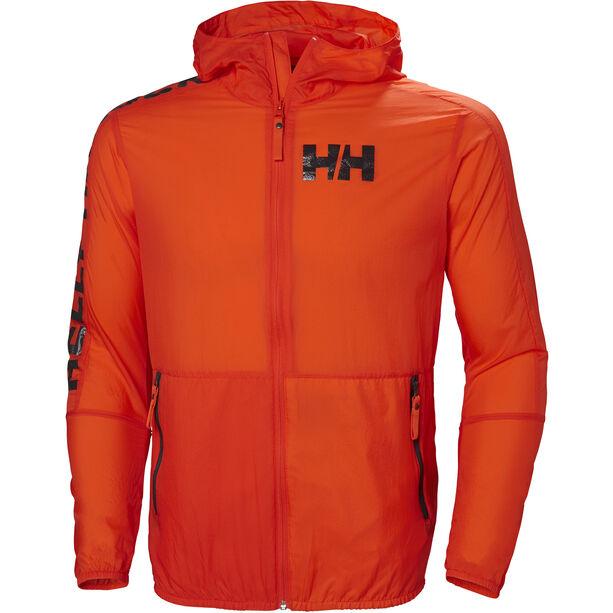 Helly Hansen Active Windbreaker Jacket Herr cherry tomato