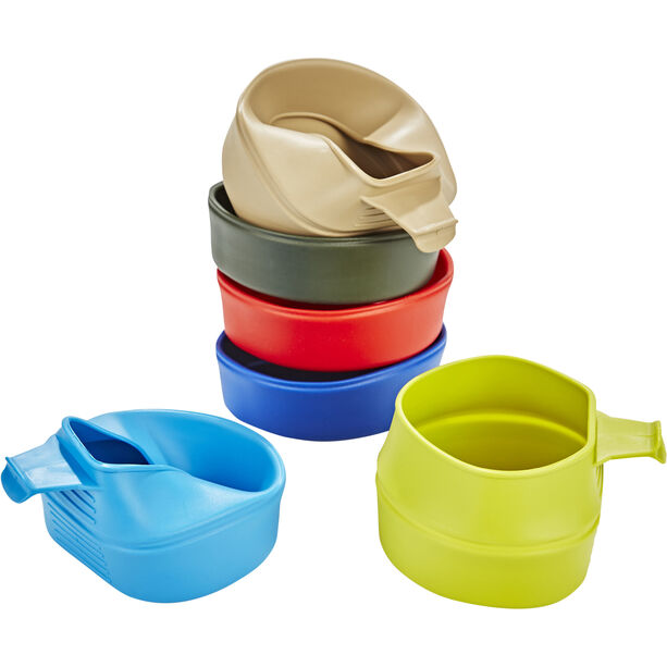 Wildo Fold-A-Cup Set Mixed 6x basic