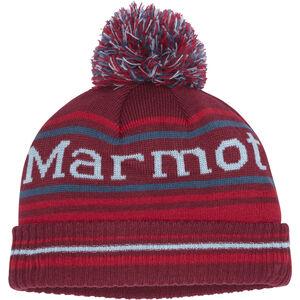 Marmot Retro Pom Hat Pojkar Brick/Team Red Brick/Team Red