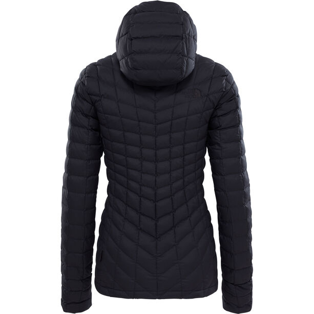 The North Face ThermoBall Hoodie Dam tnf black matte