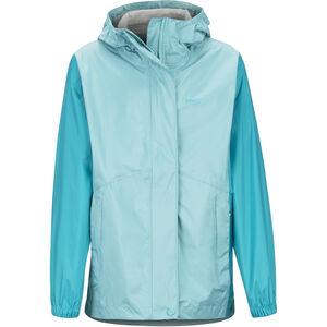 Marmot PreCip Eco Jacket Flickor Aquarelle/Blue Tile Aquarelle/Blue Tile