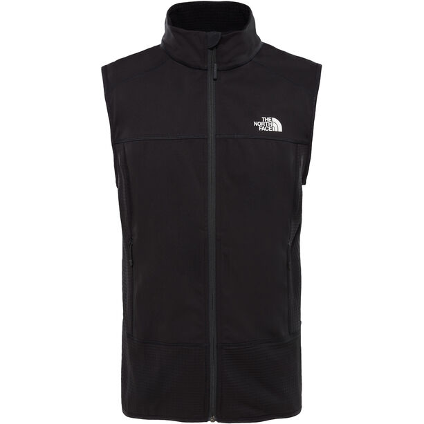 The North Face Hybrid Softshell Vest Herr tnf black/tnf black