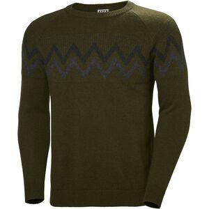 Helly Hansen Wool Knit Sweater Herr forest night forest night
