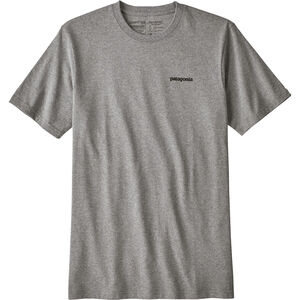 Patagonia P-6 Logo Responsibili Tee Herr gravel heather gravel heather