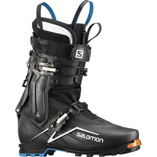 Salomon X-Alp Explr Alpine Boots black/white/transcend blue