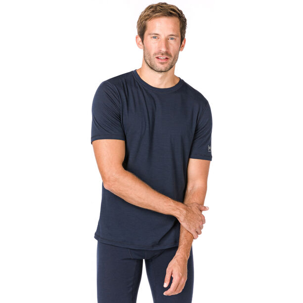 super.natural Base 140 T-shirt Herr navy blazer