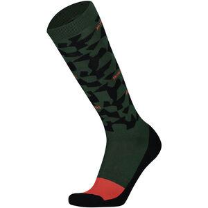 Mons Royale Lift Access Socks Herr Pine Camo Pine Camo