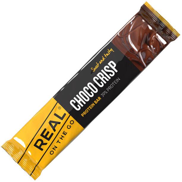 Real Turmat Choco Crisp Proteinbar 40g