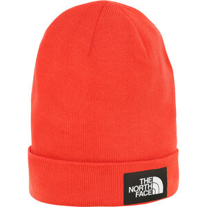 The North Face Worker Recycled Beanie Fiery Red/TNF Black Fiery Red/TNF Black