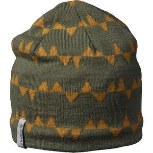 Isbjörn Hawk Knitted Cap Barn moss moss