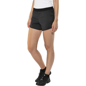 X-Bionic Aero Running Pants Short Dam black/white black/white