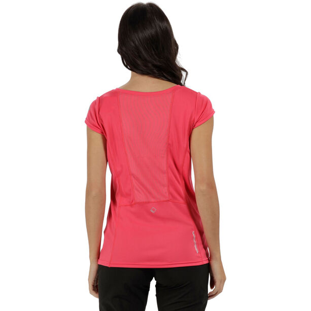 Regatta Hyper-Reflective T-Shirt Dam bright blush/bright blush reflective bright blush/bright blush reflective