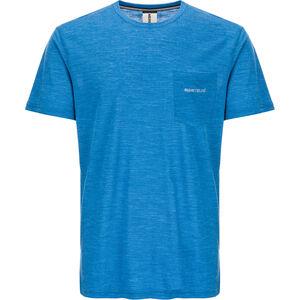 super.natural Movement T-shirt Herr vallarta blue melange vallarta blue melange