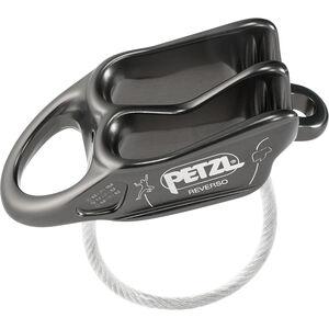 Petzl Reverso Belay Device grey grey