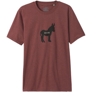 Prana Wise Ass Journeyman T-Shirt Herr Maple Heather Maple Heather