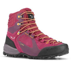 SALEWA Alpenviolet GTX Mid Shoes Dam red plum/orange popsicle red plum/orange popsicle