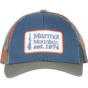Marmot Retro Trucker Hat Herr denim/crocodile denim/crocodile