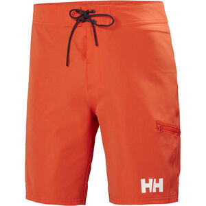 "Helly Hansen HP Board Shorts 9"" Herr cherry tomato cherry tomato"