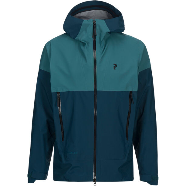 Peak Performance Mondo Jacket Herr teal extreme