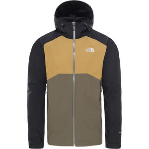 The North Face Stratos Jacket Herr New Taupe Green/TNF Black/British Khaki New Taupe Green/TNF Black/British Khaki