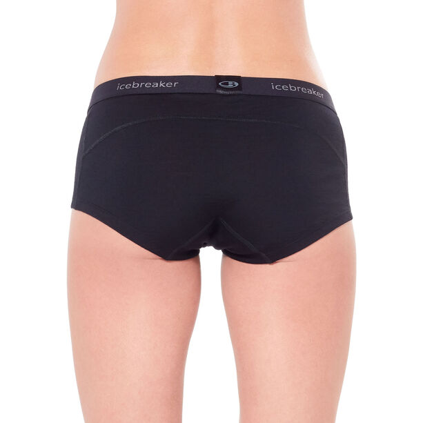 Icebreaker 200 Oasis Boy Shorts Dam black