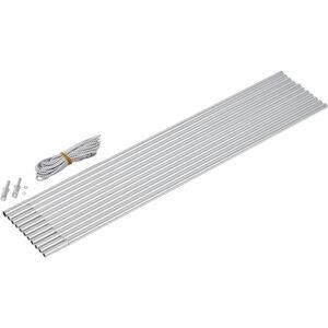 CAMPZ Aluminium Arch Pole Set 9,5mm x 5,0m