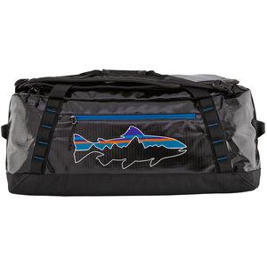 Patagonia Black Hole Duffel Bag 55l Black/Fitz Trout Black/Fitz Trout