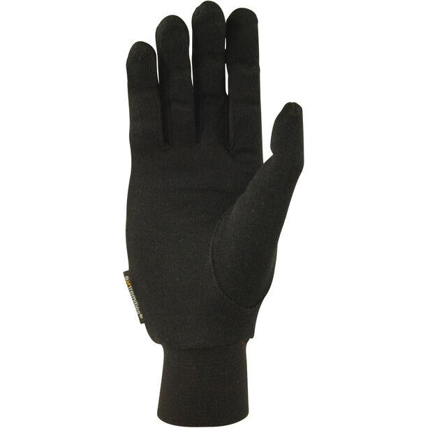 Extremities Silk Liner Gloves black