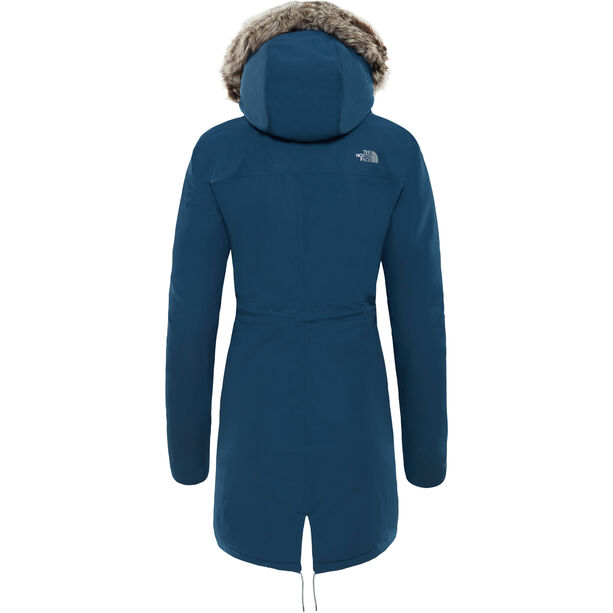 The North Face Zaneck Parka Dam blue wing teal/blue wing teal
