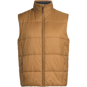 Icebreaker Collingwood Vest Herr Tawny Tawny