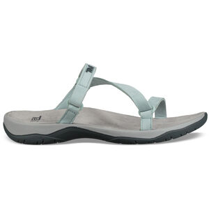 Teva Elzada Slide Leather Sandals Women gray mist gray mist