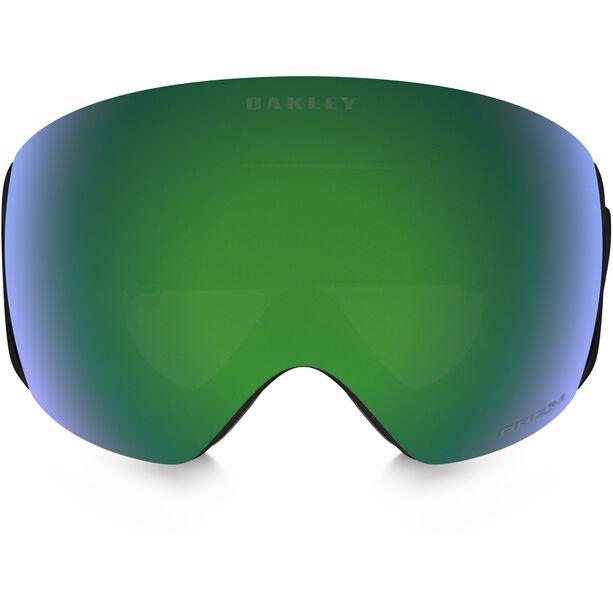 Oakley Flight Deck Snow Goggles Herr factory pilot blackout w/ prizm jade iridium